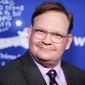 """Andy Richter attends the 25th Annual """"Beat the Odds"""" Awards held at the Beverly Wilshire Hotel on Thursday, Dec. 3, 2015, in Beverly Hills, Calif. (Photo by Richard Shotwell/Invision/AP) **FILE**"""