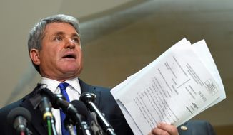 """Our enemy is adaptive, so we must be too,"" House Homeland Security Committee Chairman Rep. Michael T. McCaul said. ""Gone are the days of bin Laden, who relied on couriers and caves to plot attacks. This is a new generation of terrorists who exploit 21st century communications to spread their seventh century ideology, and it's allowed them to franchise their recruiting and crowdsource their violence."" (Associated Press)"