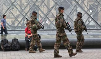 France has been under a state of emergency since attacks claimed by Islamic State in Paris in November killed 130, extended after a radical truck driver killed 85 in Nice. French Muslim communities, meanwhile, are getting a sense of rising social tension. (Associated Press)