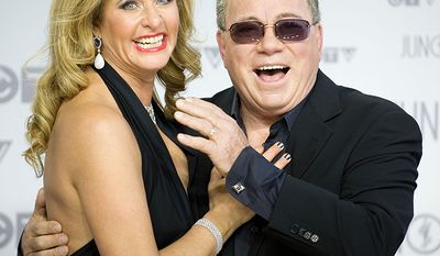 Actor William Shatner is a full 30 years older than his wife Elizabeth Martin (AP Photo)