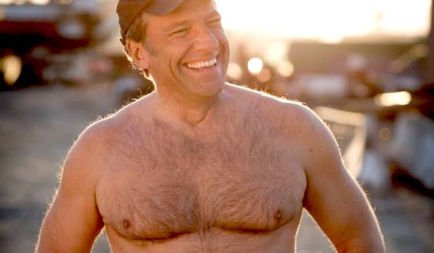 """Mike Rowe of CNN's """"Somebody's Gotta Do It"""" told Facebook followers that he recently confronted an drone outside his window with a shotgun — without any clothes on. (Facebook, Mike Rowe)"""