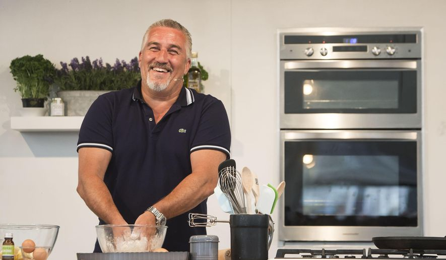 FILE - This is a Sept. 2, 2016  file photo of  TV baker Paul Hollywood. Hollywood is the stay with hit TV show the Great British Bake Off, while Cookery writer Mary Berry announced Thursday Sept. 22, 2016  that she will quit as a judge on the hit TV baking competition, when it leaves the BBC next year for another channel. (Danny Lawson/PA via AP)_