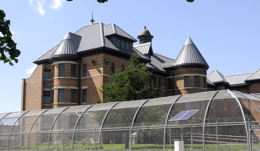 FILE - This June 16, 2010, file photo shows the exterior of the Civil Commitment Unit for Sexual Offenders (CCUSO) unit that is part of the Cherokee Mental Health Institute in Cherokee, Iowa. Nine men convicted of sex crimes and indefinitely confined to the facility after they served their prison sentences are suing the state in federal court claiming its civil commitment program is unconstitutional because it fails to offer adequate counseling and other services that would rehabilitate them enough for release. (AP Photo/Steve Pope, File)