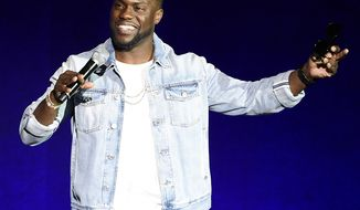 Comedian Kevin Hart, 37 years old: $87.5 million. (AP Photo)