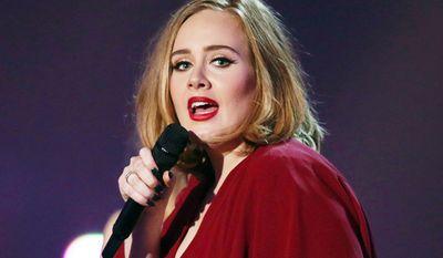 Singer Adele, 28 years old: $80.5 million (AP Photo)