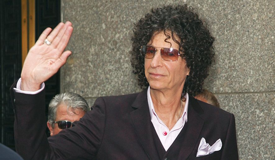 Shock jock Howard Stern (Associated Press)