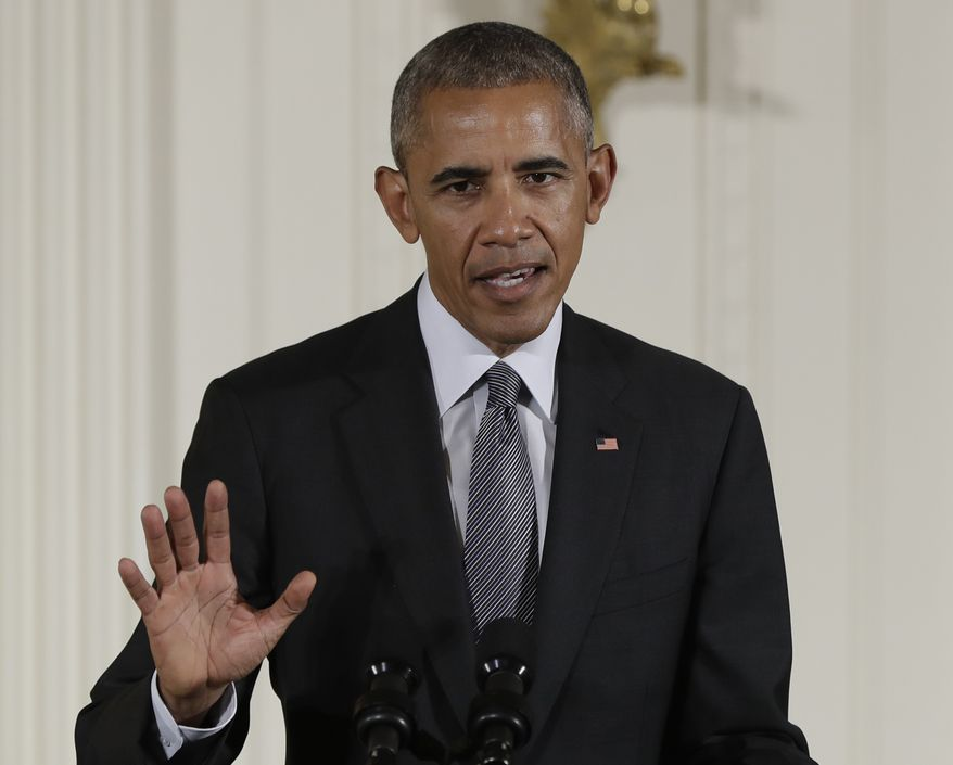 President Obama vetoed a bill that would have allowed the families of 9/11 victims to sue the government of Saudi Arabia. (Associated Press/File)