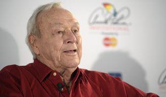 Arnold Palmer (Associated Press)