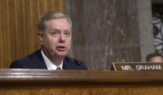 Sen. Lindsey Graham.  (AP Photo/Susan Walsh, File)