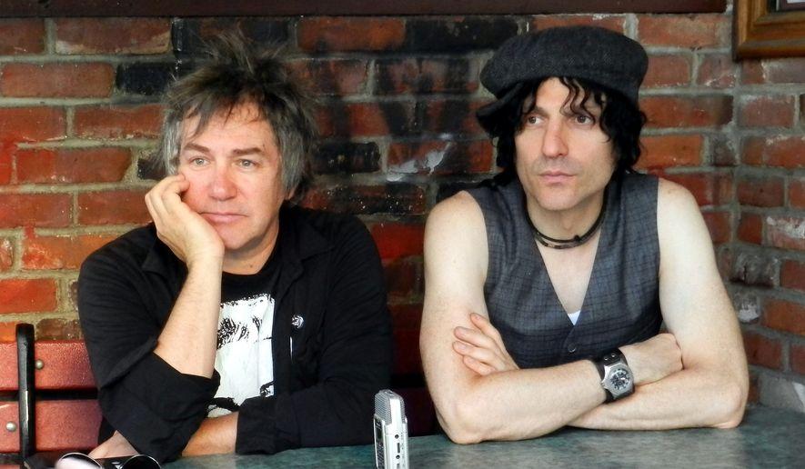 D Generation lead guitarist Danny Sage (left) and vocalist Jesse Malin.  (David Joseph Tamargo)