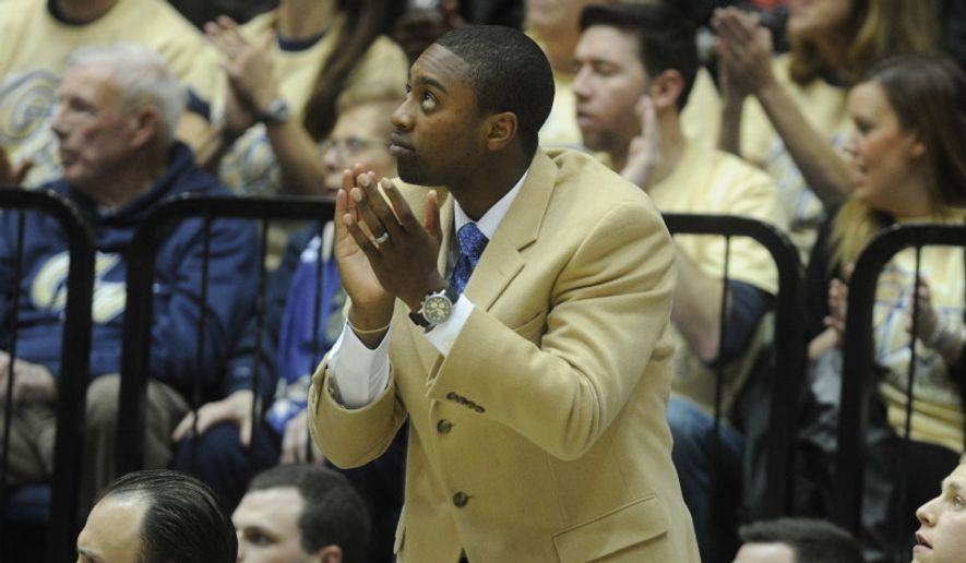 Assistant coach Maurice Joseph was named interim head coach of the George Washington Colonials on Tuesday. (Photo courtesy of www.gwsports.com)