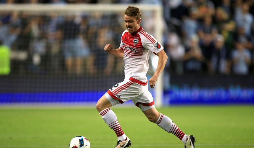 Defender Taylor Kemp is poised to make his team-high 29th start on Wednesday as the D.C. United hosts the Columbus Crew at RFK Stadium. Kemp tied the club record with three assists in Saturday's win over Orlando City. (Associated Press)