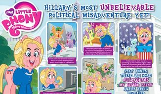 """Hillary Clinton will be targeted in the October issue of MAD Magazine as """"My Little Phony."""" (MAD Magazine)"""