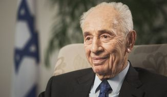 Shimon Peres (Associated Press)