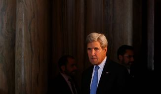 The cease-fire in Syria, negotiated by Secretary of State John F. Kerry and Moscow, collapsed last week after a Russian airstrike hit a U.N. aid convoy headed for the besieged city of Aleppo. (ASSOCIATED PRESS)