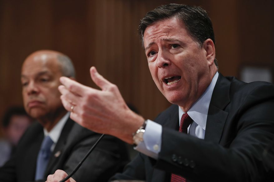 Appearing before Congress for yet another marathon session, FBI Director James B. Comey was badgered by Republicans who said the more they see, the less they understand his decision to clear Mrs. Clinton of criminal wrongdoing in her mishandling of classified information. (Associated Press)