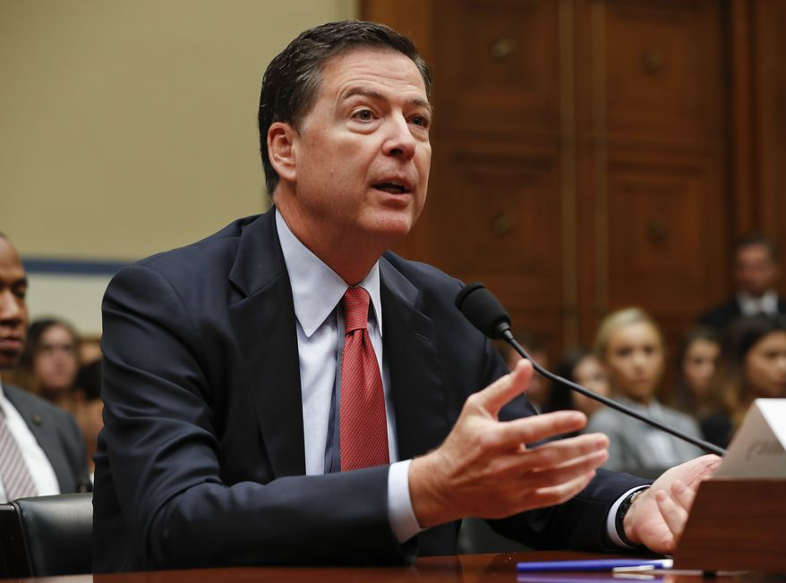 """In the absence of reliable federal data on police shootings, """"Americans actually have no idea whether the number of black people, brown people or white people is up down or sideways,"""" FBI Director James B. Comey said. """"They have no idea of these things because we have no idea of these things."""" (Associated Press)"""
