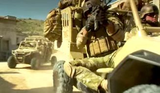 The U.S. Marine Corps plans on purchasing 144 Polaris MRZR-Ds for infantry units. The Polaris Defense vehicles will allow troops to stay off-road and carry 1,500 pounds of payload. (YouTube, Polaris Defense)
