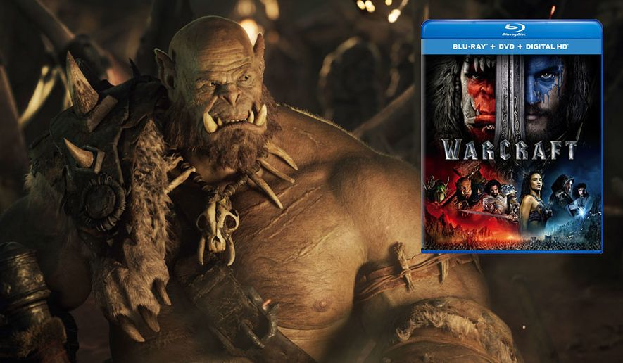 "Orgrim and his orc brethren steal the show in ""Warcraft,"" available on Blu-ray from Universal Studios Home Entertainment."