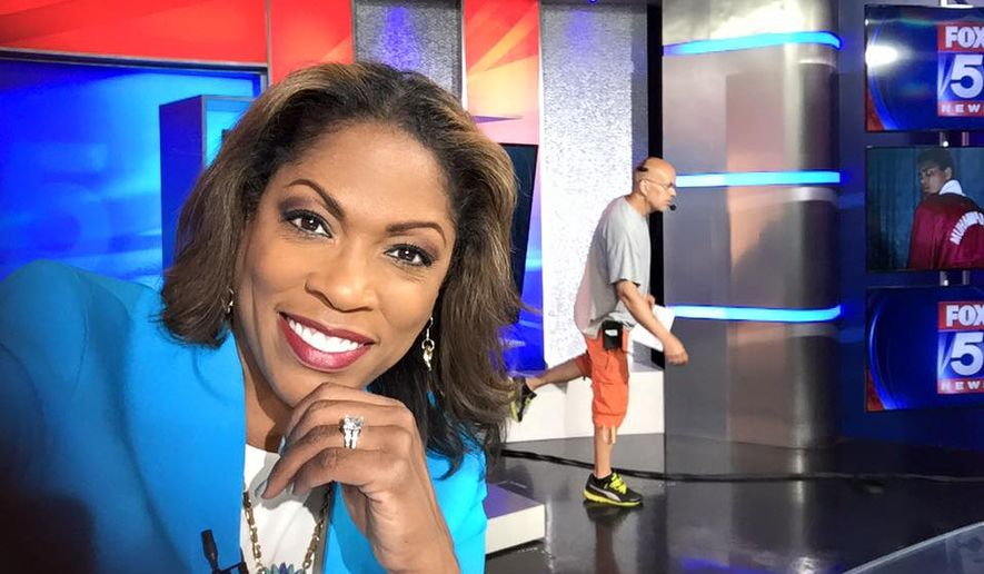 D C  newscaster Shawn Yancy discusses young pregnancy on Fox 5
