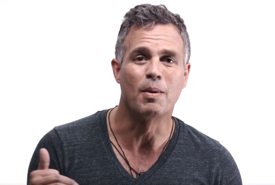 Hollywood actor Mark Ruffalo takes part in a commercial for pro-Hillary Clinton super PAC Save the Day. (YouTube, Save the Day)