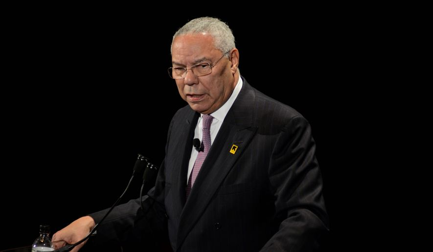 Former Secretary of State Colin Powell (Associated Press)