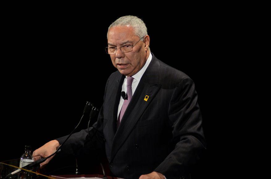 Former Secretary of State Colin Powell (Associated Press)