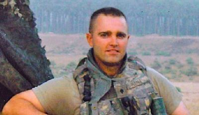 Field office: Patrick Hanley retired on disability after being wounded in Iraq, only to face co-worker discrimination when he entered the federal workforce.