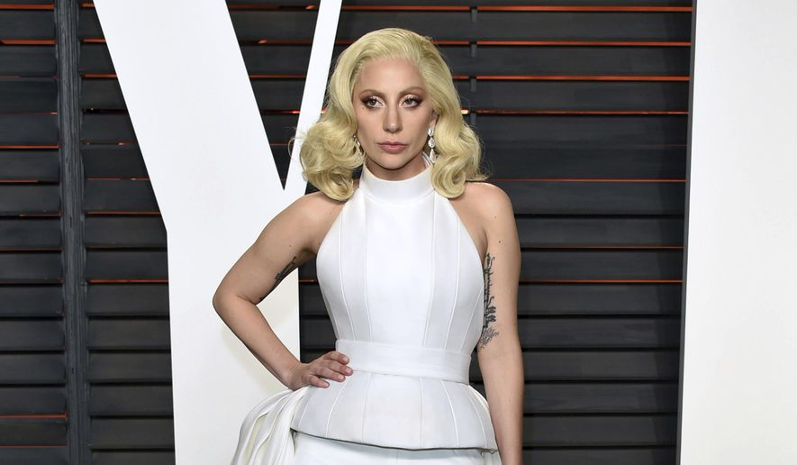 In this Feb. 28, 2016, file photo, Lady Gaga arrives at the Vanity Fair Oscar Party in Beverly Hills, Calif. (Photo by Evan Agostini/Invision/AP, File)