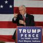 Republican vice presidential candidate Gov. Mike Pence will need to aggressively attack Hillary Clinton's record Tuesday evening to win the debate. (Associated Press)