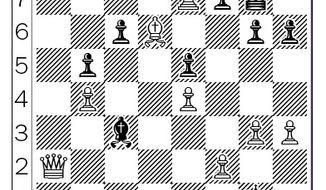 Kramnik-Anand after 45...Qg8.