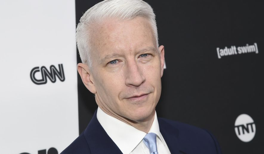 In this May 18, 2016 file photo, CNN news anchor Anderson Cooper attends the Turner Network 2016 Upfronts in New York. (Photo by Evan Agostini/Invision/AP, File)
