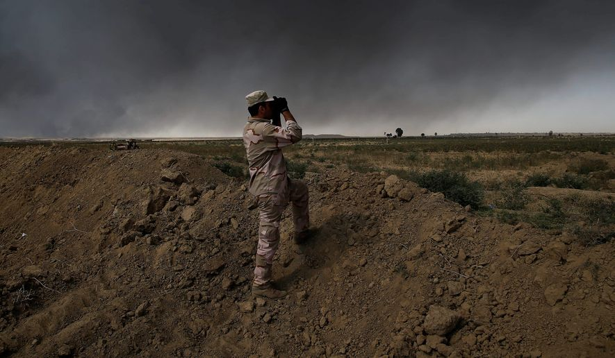 Iraqi and U.S. forces say the joint military campaign to retake Mosul from the Islamic State terror group is all but imminent. (Associated Press)