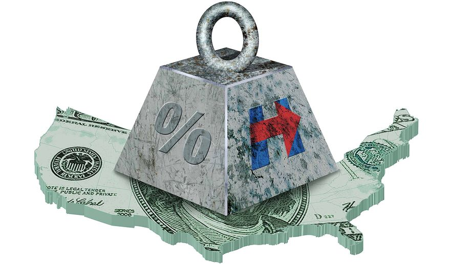 Hillary's Tax Plan Illustration by Greg Groesch/The Washington Times