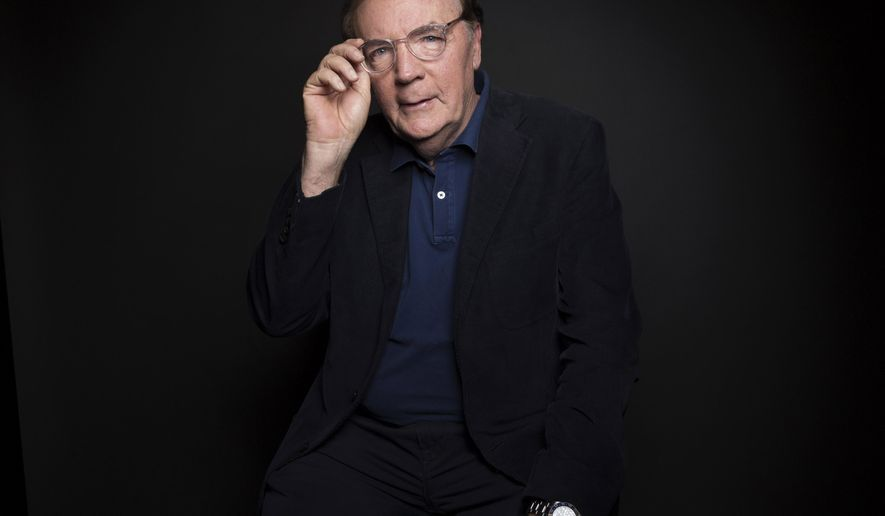 FILE - In this Aug. 30, 2016, file photo, author James Patterson poses for a portrait in New York. Employees at independent bookstores can look forward to another round of holiday bonuses from Patterson. The best-selling author told The Associated Press on Wednesday, Oct. 5, 2016, that he plans to distribute about $250,000, the same amount he gave last year. The gifts, ranging from $1,000 to $5,000 per person, are based on nominations submitted by owners, managers, customers and others in the bookselling community. (Photo by Taylor Jewell/Invision/AP, File)