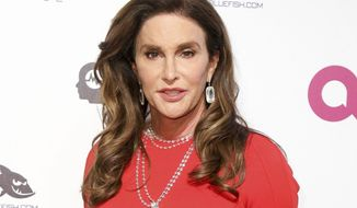 "FILE - In this Feb. 28, 2016 file photo, Caitlyn Jenner arrives at the 2016 Elton John AIDS Foundation Oscar Viewing Party in West Hollywood, Calif. As Kim Kardashian West remains in seclusion and off social media after her Paris ordeal, Caitlyn Jenner became the first family member to post about the armed robbery, sending well wishes to her stepdaughter and a warning for all on Instagram. Jenner declared Tuesday afternoon, ""After hearing the full story, I'm so thankful she's okay. It's a reminder for us all to be careful in the uncertainty of this world."" (Photo by Rich Fury/Invision/AP, File)"