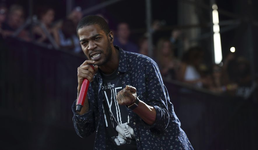 "FILE - In this Aug. 1, 2015, file photo, Kid Cudi performs at the Lollapalooza Music Festival in Grant Park in Chicago. The rapper announced on Facebook Oct. 4, 2016, that he had checked into rehab for ""depression and suicidal urges."" (Photo by Steve C. Mitchell/Invision/AP, File)"