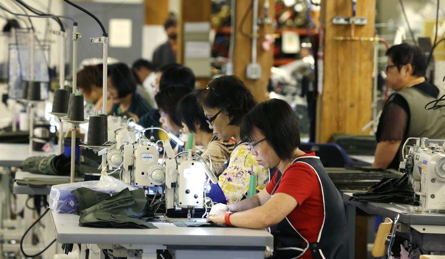 Sluggish Jobs Picture Dogs Democrats Ahead Of Election Washington Fascinating Sewing Machine Jobs