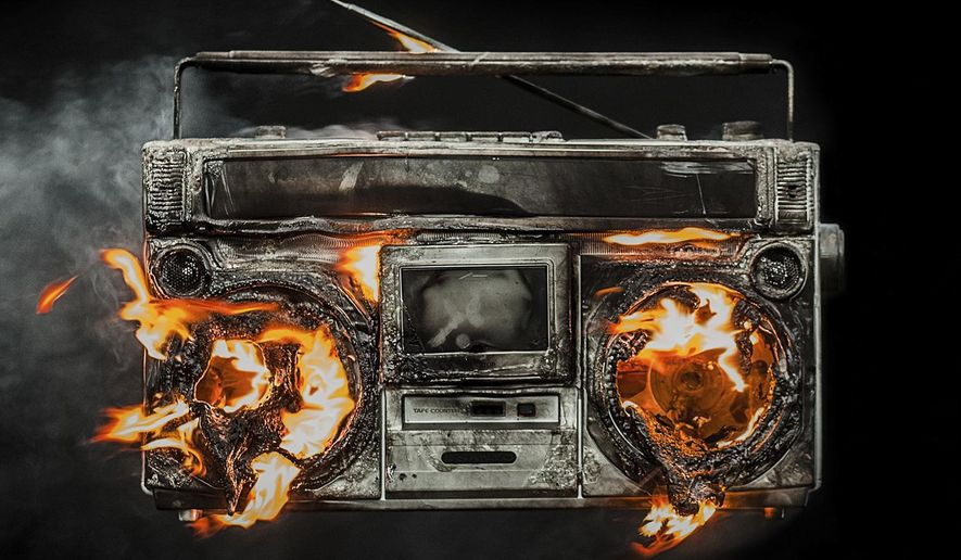"This cover image released by Warner Bros. Records shows ""Revolution Radio,"" the latest release by Green Day. (Warner Bros. Records via AP)"
