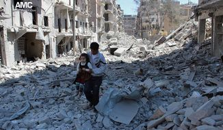 Despite harrowing scenes of violence in Aleppo and beyond, President Obama is unlikely to approve any risky strategy before handing the Syrian civil war over to his successor early next year. (Associated Press)