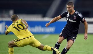 After five seasons with the D.C. United, U.S. national team midfielder Perry Kitchen is back in the area for a friendly against New Zealand on Tuesday. (Associated Press)