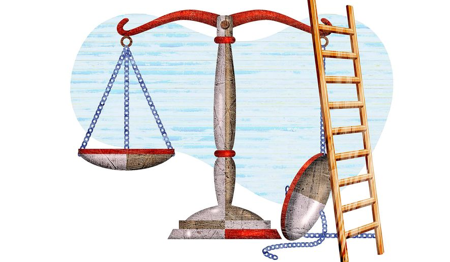 Fixing the Justice System Illustration by on Illustration by Greg Groesch/The Washington Times