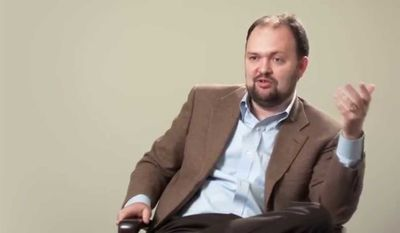 New York Times columnist Ross Douthat (YouTube image)