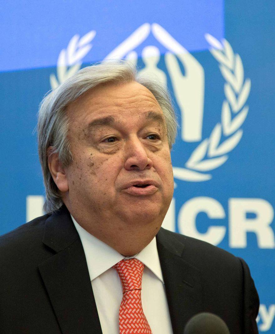 Antonio Guterres   Associated Press photo