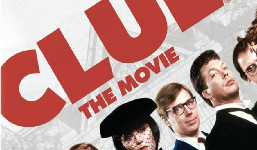 "A ""Clue"" (1985) movie poster, via imdb.com. On Oct. 11, 2016, Variety reported that a stage adaptation of the movie would tour the United States in 2017, beginning with a premiere in a community playhouse in the suburbs north of Philadelphia.  [https://images-na.ssl-images-amazon.com/images/M/MV5BNWQ2MzBiZDktMjRlYi00MmUwLTk2ZDAtNmUzNWE0MjBhYmVjXkEyXkFqcGdeQXVyNDk3NzU2MTQ@._V1_SY1000_CR0,0,701,1000_AL_.jpg]"