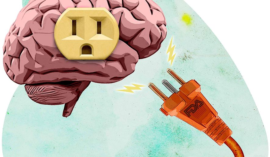 Shock Therapy Illustration by Greg Groesch/The Washington Times