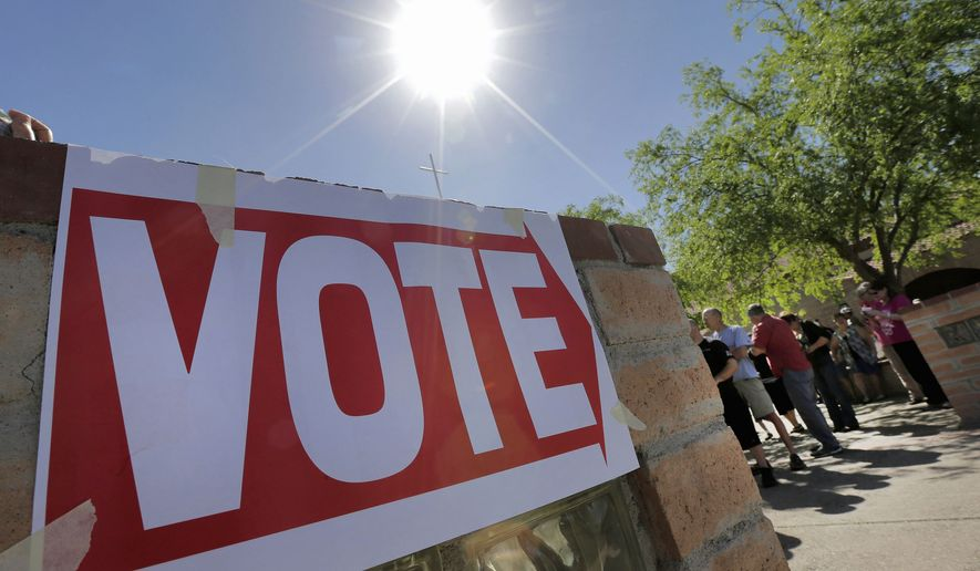 The American Psychological Association reports a spike in election-related stress, but says voting can help alleviate symptoms. (Associated Press)