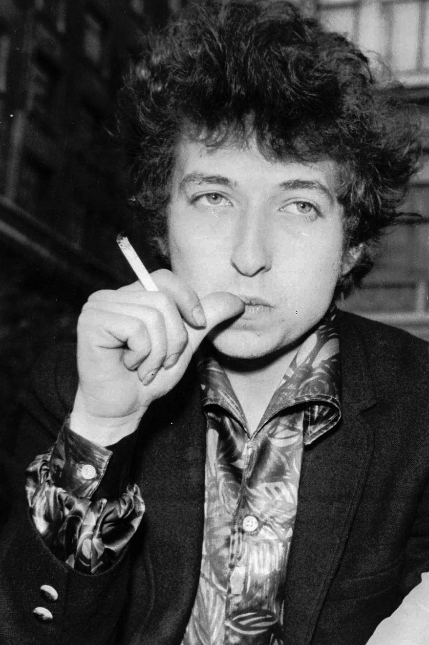 Bob Dylan in 1965 (Associated Press/File)