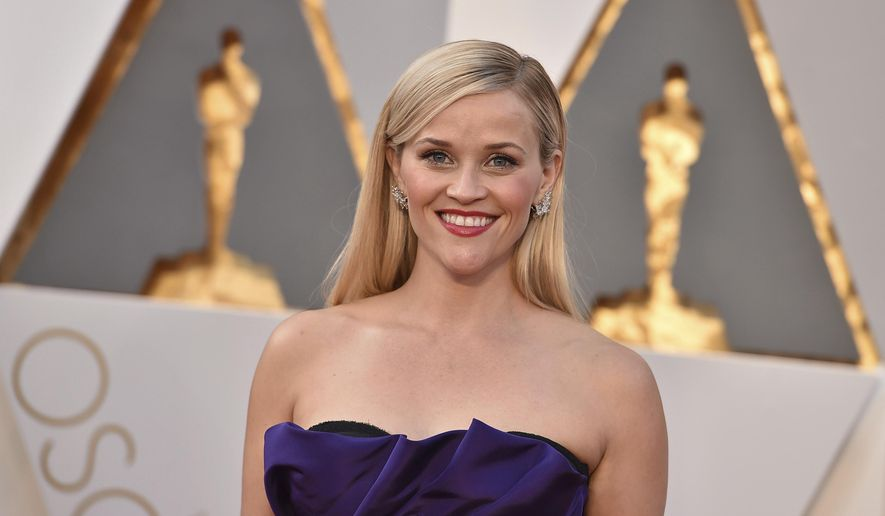 FILE - In this Feb. 28, 2016 file photo, Reese Witherspoon arrives at the Oscars at the Dolby Theatre in Los Angeles. Witherspoon has a deal with Touchstone for a lifestyle book based on her upbringing in Tennessee. The book is currently untitled and scheduled to come out in 2018, the publisher told The Associated Press on Thursday, Oct. 13.  (Photo by Jordan Strauss/Invision/AP)