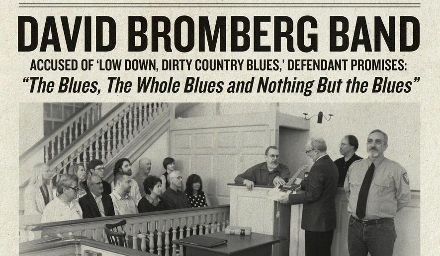 "This cover image released by Red House Records shows ""The Blues, The Whole Blues, And Nothing But The Blues,"" by the David Bromberg Band. (Red House Records via AP)"